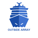 Outside Array for boat